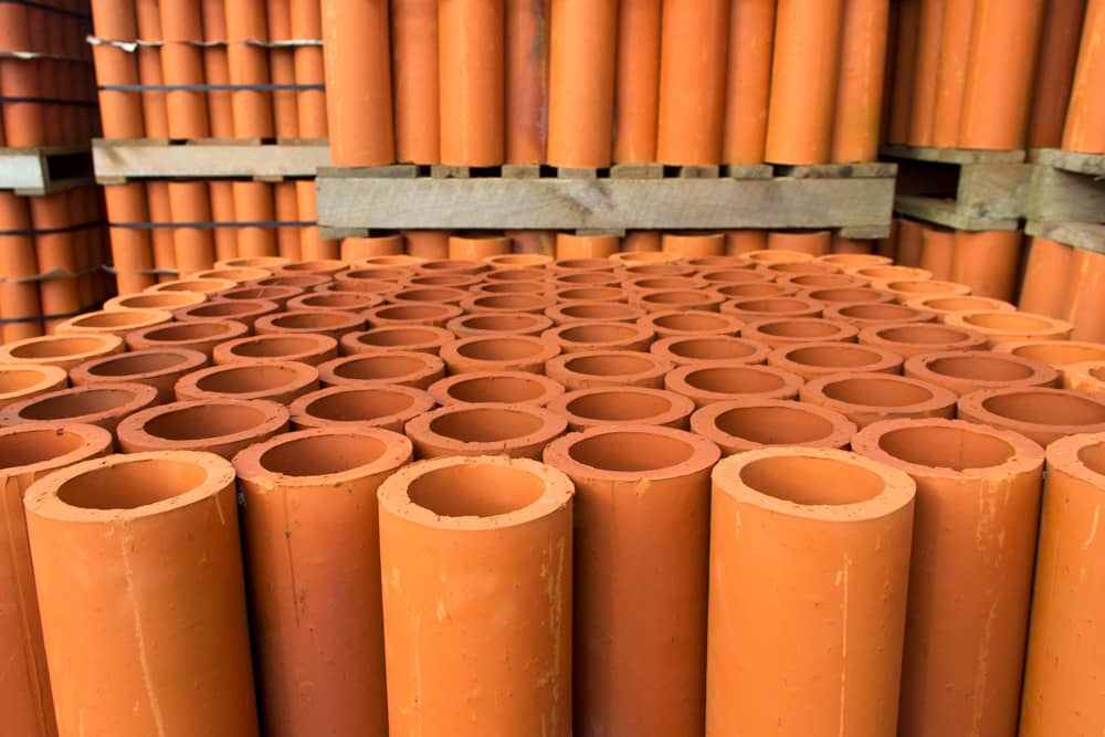 Marton Brick & Tile | Natural vitrified clay pipes from the earth